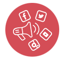Social channels Icon GCICA - General Data