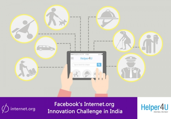 Helper4u.in Wins Internet.org Innovation Challenge in India!