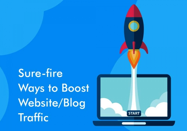 Sure-fire Ways to Boost Website/Blog Traffic